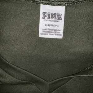 Pink VS V neck new without tags. More like an XL